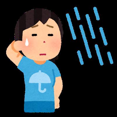 雨(暴風雨)